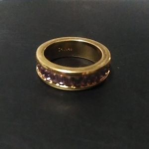Coach Gold Ring